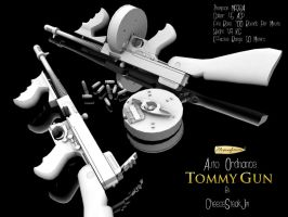 Thompson M1928A1 'Tommy Gun' by CheeseSteakJim