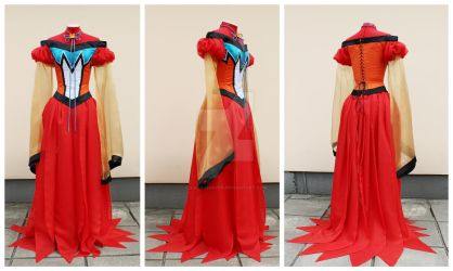 Princess Kakyuu cosplay set by lady-narven
