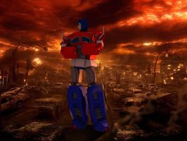 Optimus by locohead