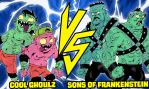 Cool Ghoulz Vs. Sons of Frankenstein by JonDavidGuerra