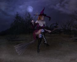 Witch's Moon by twosheds1