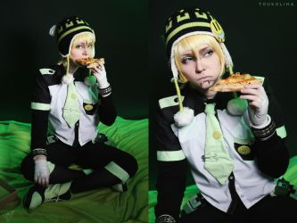 Noiz - Dramatical Murder cosplay by Linamohl