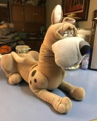 Plush Einstein Disney's Oliver and Company by WickedSairah