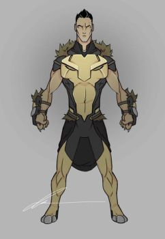 Final design for Leo by mrgreenlight by WARBOUND-President