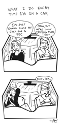 Highway Hypnosis by fish-puddle
