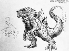 Godzilla : War Of The Monsters : Zilla File by Erickzilla