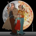 DOG AND PIZZA BOY TRIBUTE by marcelopont