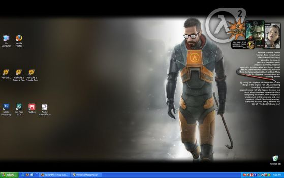 Half-Life 2 Desktop by SgtHK