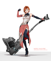 Nora Valkyrie - RWBY 3.0 by dishwasher1910