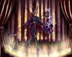 Commission-Bedivere The Magician by KaeMcSpadden