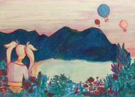 Hot Air Balloons by ambue