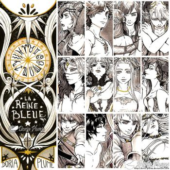 :Inktober: ZODIAC PREVIEW [AVAILABLE ON MY SHOP!] by Doria-Plume