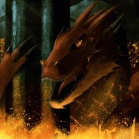 Smaug by Dragonborn91