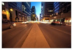 Montreal at Night 74 by Pathethic