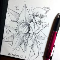 11. Misty and her Starmie