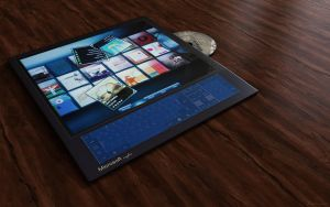 microsoft surfaces by 3DEricDesign