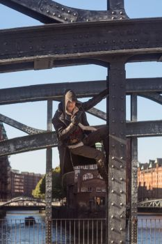 Hang in there ! / AC Syndicate Jacob Frye Cosplay by KADArt-Cosplay