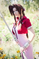 Aerith : That's all that matters. by LadyxZero