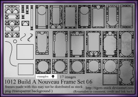 1012 -  Build A Nouveau Frame Set 06 by Tigers-stock