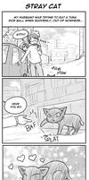 ToaG: Stray Cat by TriaElf9