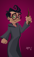 Harry Potter by dankershaw