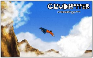 Cloudhopper art show page E by geoffsebesta