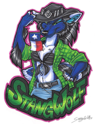 TFF17 Con Badge - Tala by StangWolf