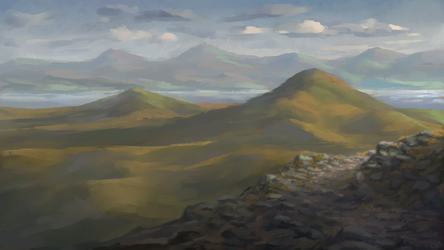 Highland Overlook by cicetil