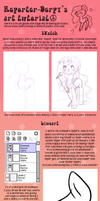 Drawing with Reporter-Derpy (mlp:fim tutorial) by KYAokay