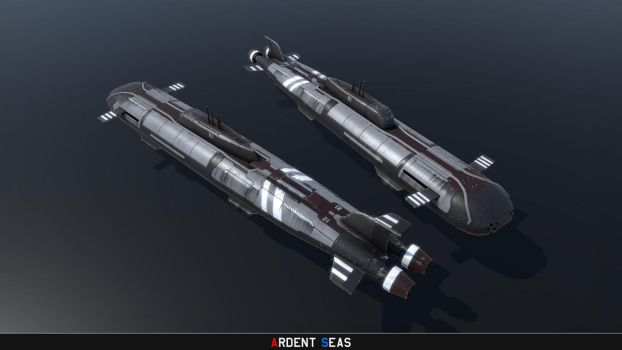 Project 21-Class Cruise Missile Attack Submarine by Helge129