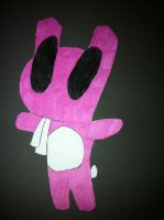 filler bunny jumping by invaderstitch2000