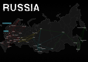 Watch_Dogs Russia map by KirilloTR0N