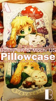 APH- Bunny UK Pillowcase by siguredo