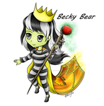 Becky Bear 2 by MuchPainInside