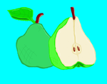 Pears by burningdischarge