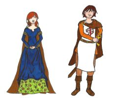 Adeline and Gregoire by Shpout