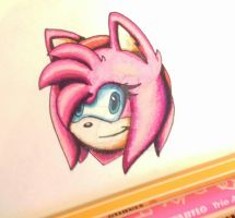 Amy (felt pen drawing) by TothViki