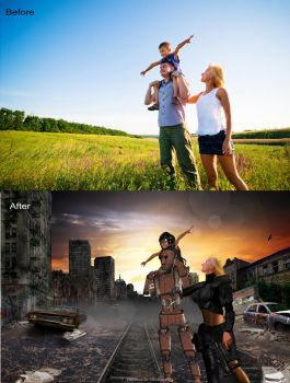 Post apocalyptic world comparison by Henrique-Rozada