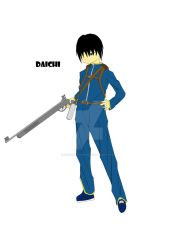 New Character - Daichi by lightningshinobi