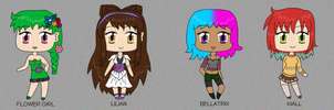 Lil Mini Chibis by izka197