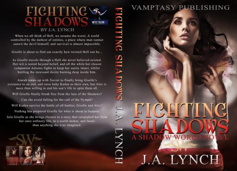 Fighting Shadows Printable by bookcoverbydesign