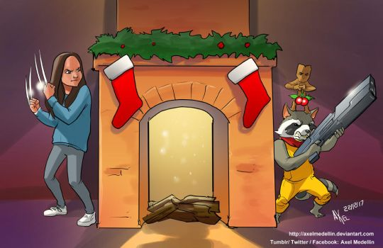 TLIID 372. Laura's and Rocket's Christmas by AxelMedellin