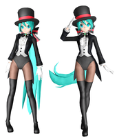Magician miku DT by Sateraido