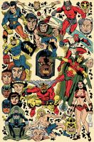 Jack Kirby Tribute Poster by MRNeno
