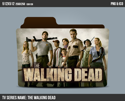 The Walking Dead folder icon by kasbandi