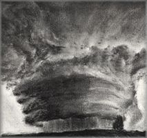 Supercell t-storm by Akaiko