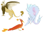 [2/3 OPEN] Mythical Creature Adopts by SophieSuncatcher