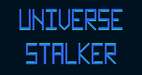 Universe Stalker Title Screen by An-Pseudonymous