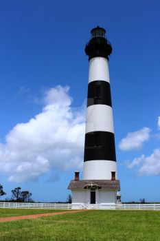 Bodie Island Lighthouse, Pea Island, Outer Banks by JustinCabell