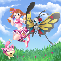May, Skitty and Beautifly